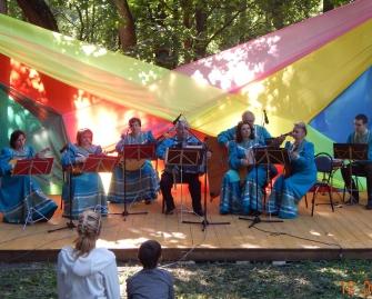 Народный коллектив оркестр народных инструментов «МЕТЕЛИЦА»